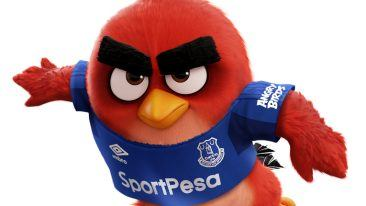 Angry Birds is the first ever mobile gaming brand to partner up with Everton Football Club from Liverpool.