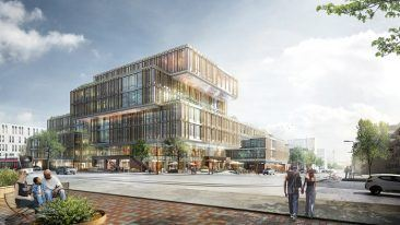 Caverion will start work on the new office building being built in Denmark's second city Aarhus in 2017, while upkeep of the property will continue for Caverion until 2033.