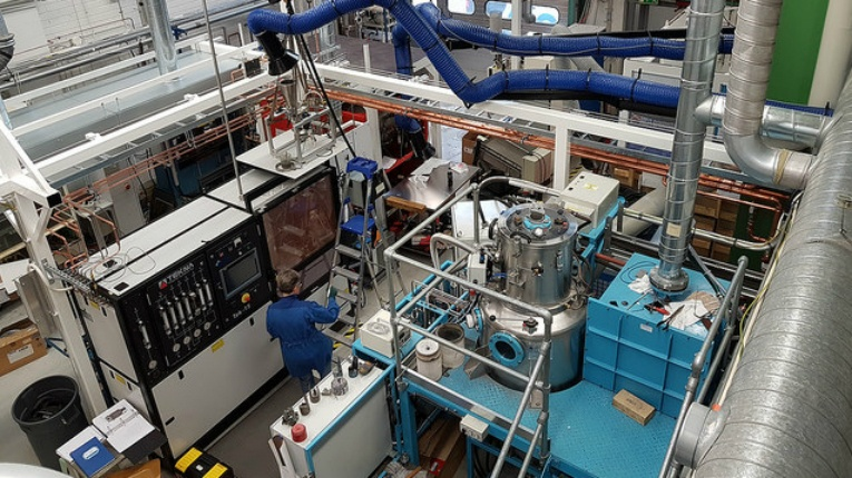 The new plasma equipment builds upon VTT's pilot environment for 3D printing of metals.