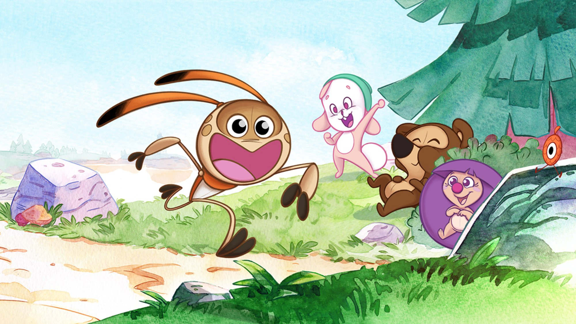 Gigglebug's infectious laughter has been expanded from apps and TV series to music, books and board games, but all are based on the central idea of making children feel happy.