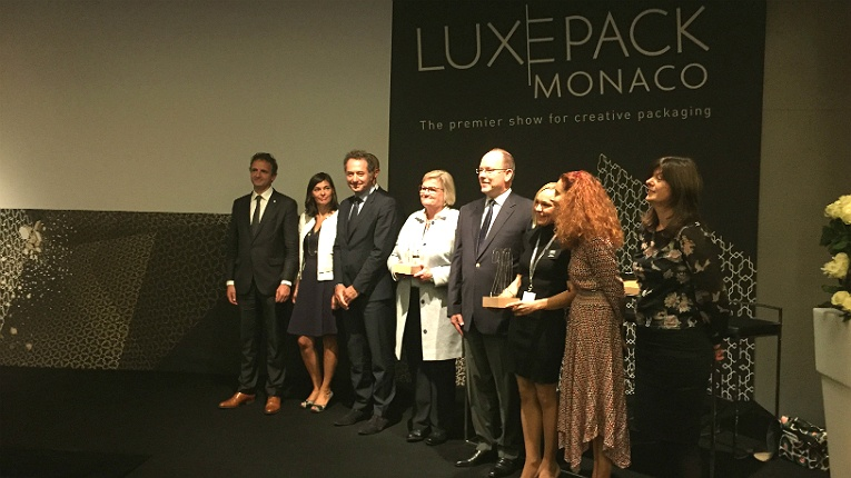 The Luxe Pack in Green Award was presented to Sulapac by Albert II, the prince of Monaco, on 3 October.