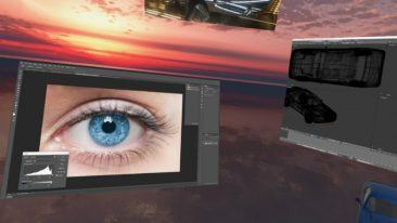 Varjo's Bionic display technology replicates how the human eye works and creates a super-high-resolution image in the direction of the user's gaze.