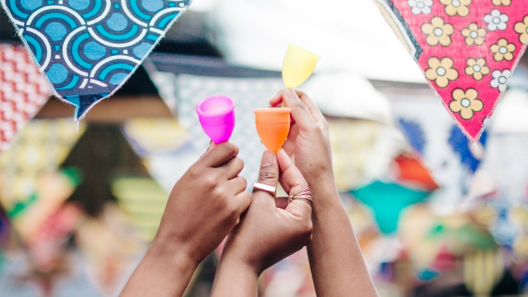 Lune Group wants to contribute to increasing equality and supporting women's good health with its Lunette menstrual cups.