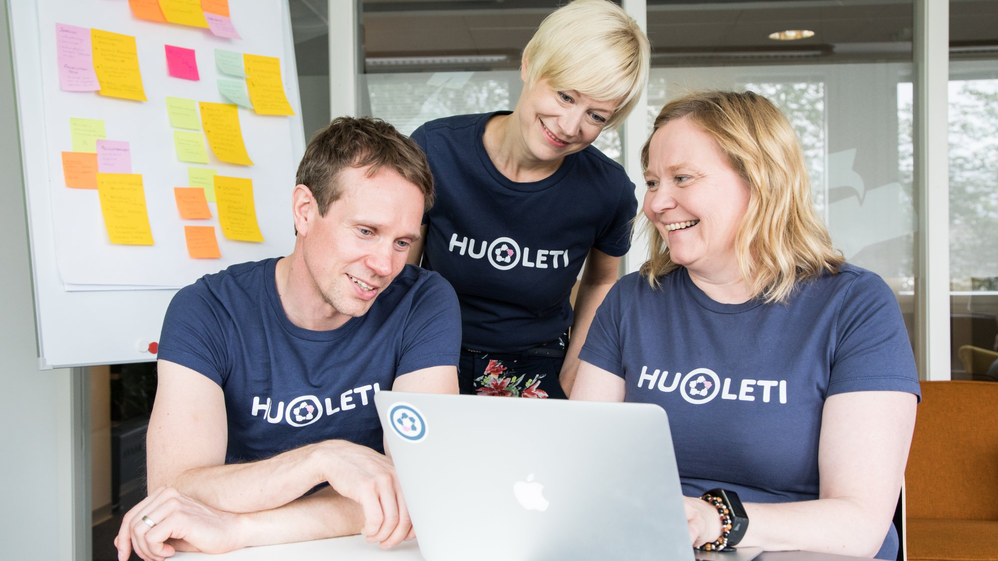 Huoleti's mobile app helps create a peer support network for people with health challenges and their loved ones.