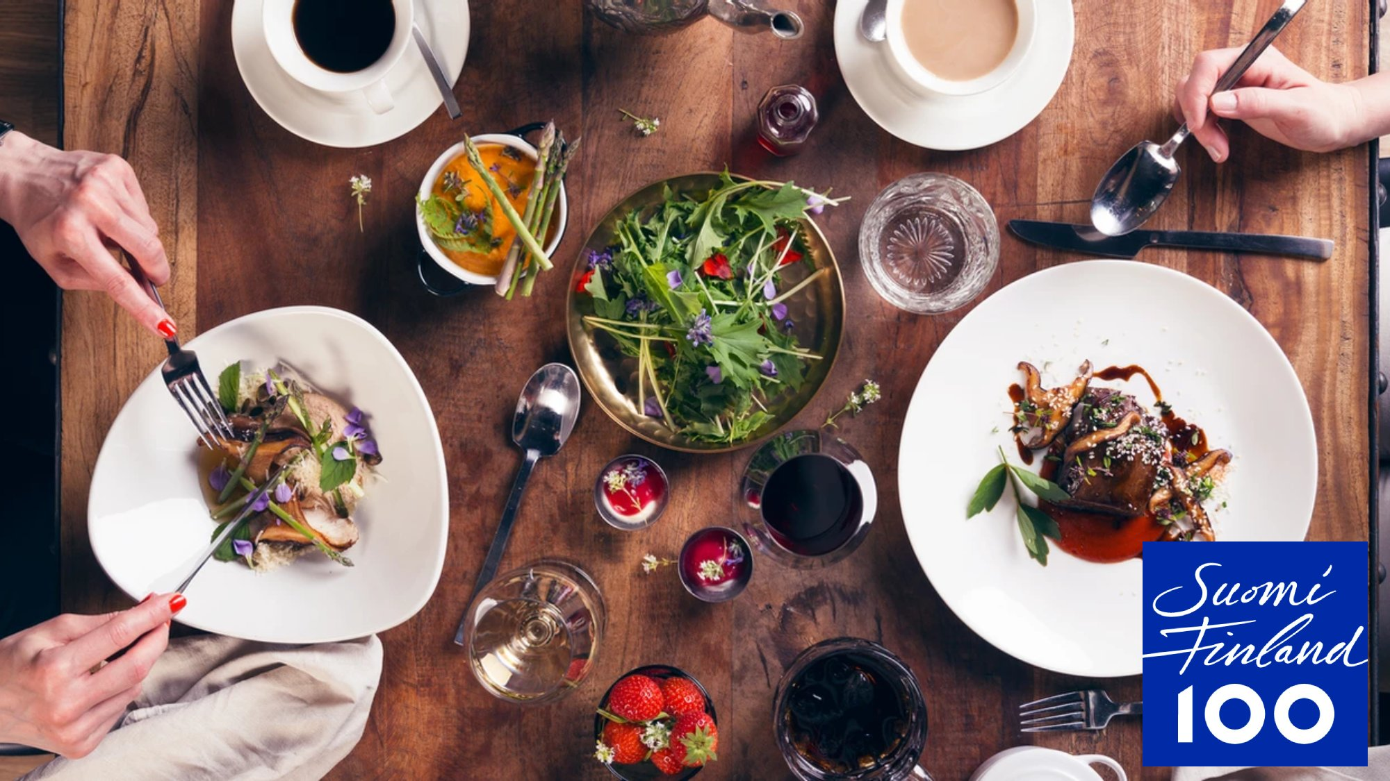Wild herbs and berries are two key ingredients for Kuopio's gastronomic success.