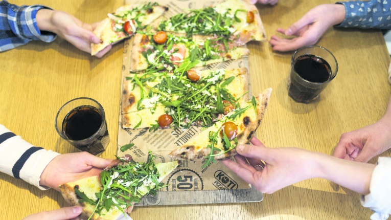 Kotipizza restaurant is a visible and well-known brand in Finland.