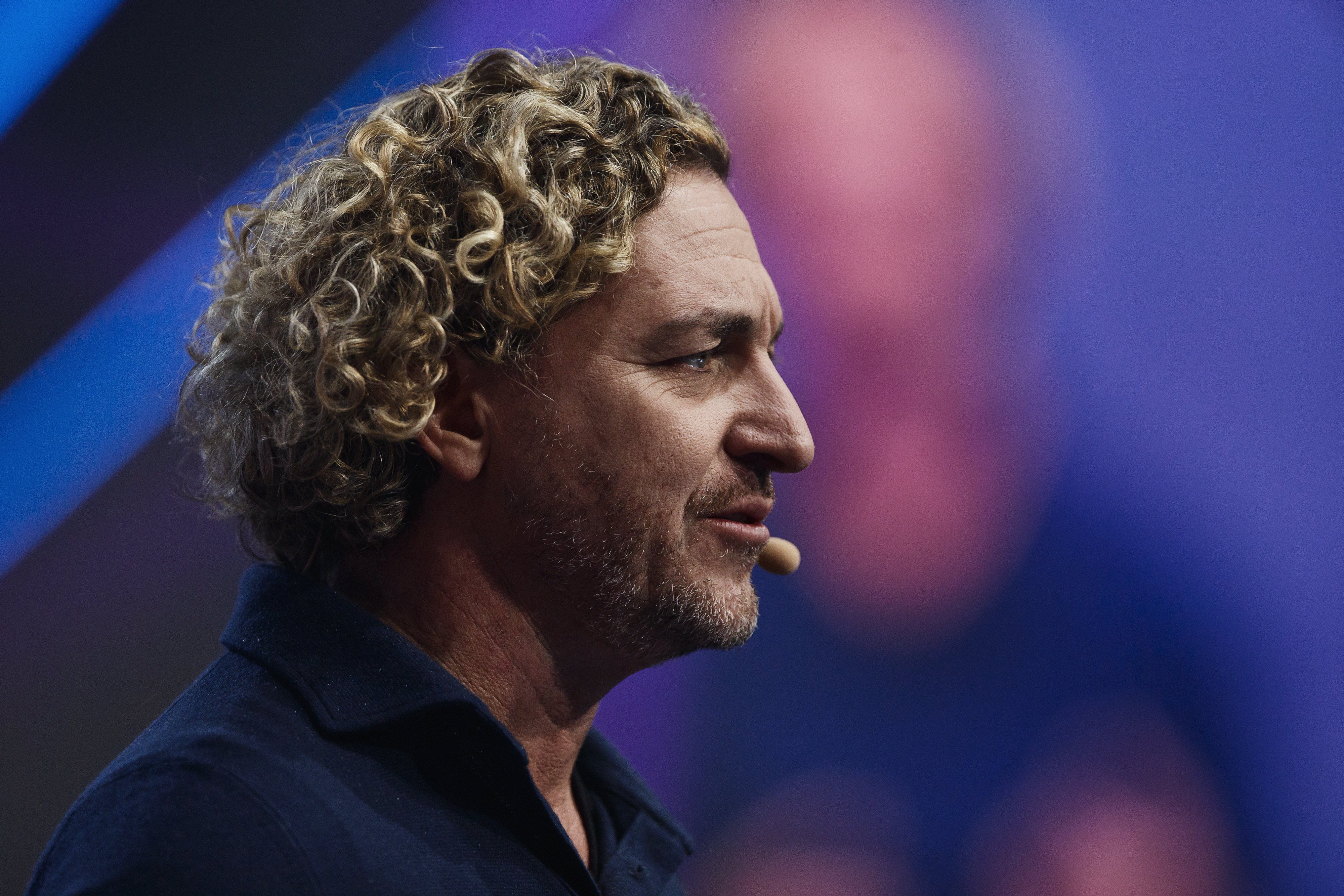 """Ken Mulvany, chairman and founder of BenevolentAI, opened the Founder Stage on Friday. His topic was a healthy one: can technology cure disease? """"In health care, AI is the new black,"""" he said."""