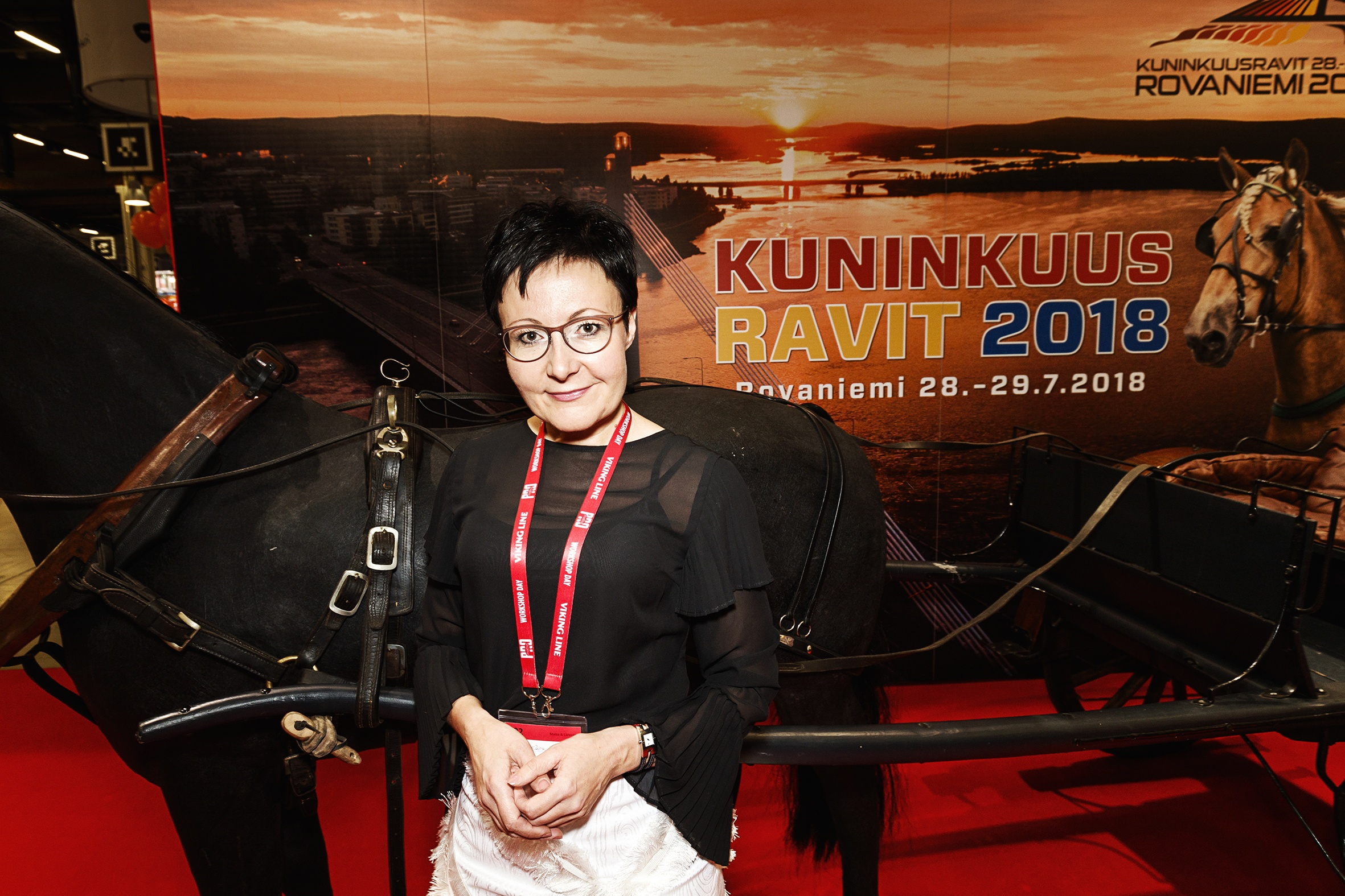 """Visit Rovaniemi's huge stand was crowded with local companies: in total, 40 entrepreneurs were represented. CEO Sanna Kärkkäinen takes pride in the investments local accommodation providers are making, as they form a big part of the region's attractiveness. This year, the Finnhorse Trotting Championship competition (Kuninkuusravit) will prove irresistible to many from the Nordics. """"The legendary event will definitely be an experience many will be keen to travel for."""""""