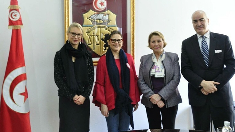 """""""We are here to learn, to share and to co-create the best start in life for Tunisian children together with our local partners,"""" says Fun Academy CEO Sanna Lukander (second from left)."""