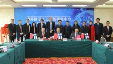 The Memorandum of Understanding was signed by management from Eksote and Avaintec at the Sichuan Provincial People's Hospital on 16 January.