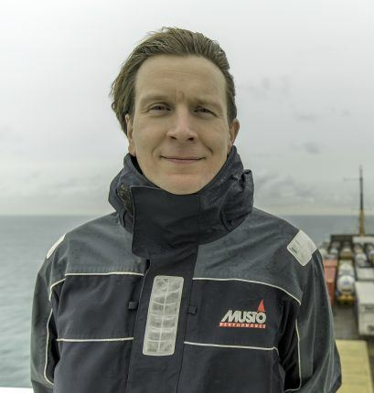 """Tuomas Riski points to the simplicity of the idea as a reason for Norsepower's success: """"We set out knowing how to go about making a mechanical sail."""""""