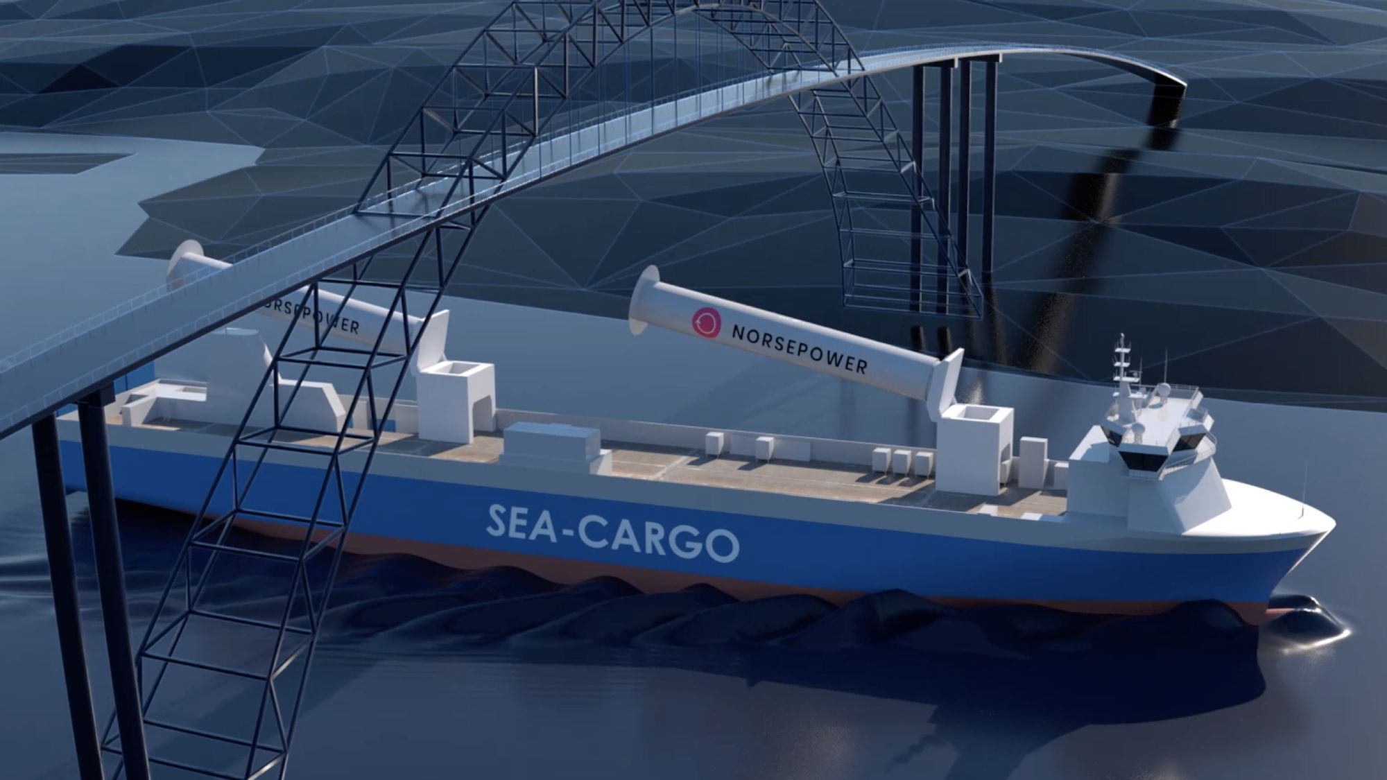 The Norsepower Rotor Sail Solution can reduce fuel costs by 20 per cent annually.