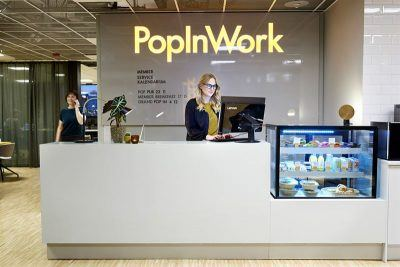 PopInWork opened its first activity-based member office in Stockholm in November.