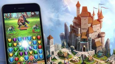 Empire & Puzzles has around one million monthly active users.