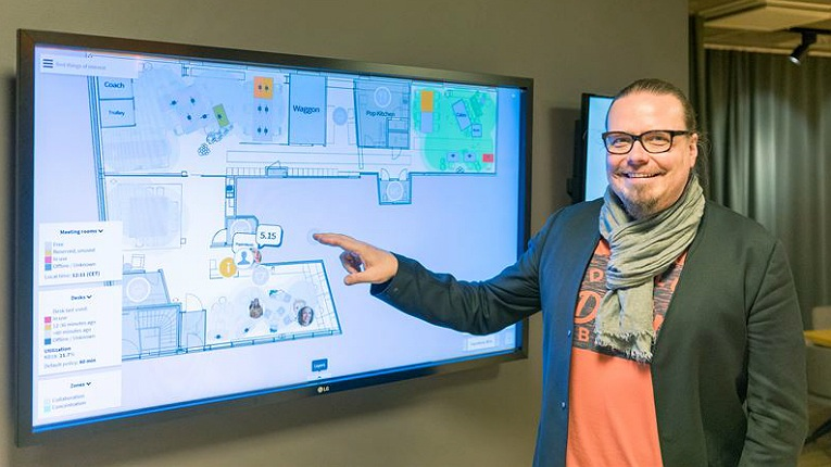 """We have a close collaboration to provide more businesses with the opportunity to discover the power of intelligent and empathic offices, and to experience how technology can improve both efficiency and the working environment,"" states Tomi Teikko, the director of intelligent building at Tieto,"