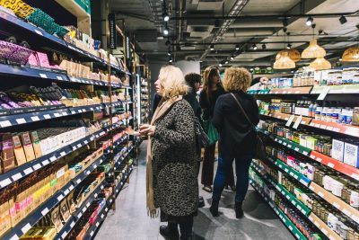 Happy Food Store's opening event gathered plenty of interest in the Swedish capital.