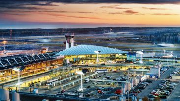 Helsinki Airport is the best-connected airport in Northern Europe, with 145 non-stop destinations all around the world served by over 50 airlines.