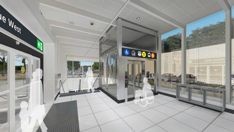 KONE is providing elevators to stations to be built for a new Crosstown line in Toronto.