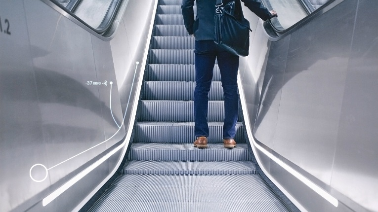 KONE's 24/7 Connected Services gives voice to elevators and now presents a tweeting escalator.