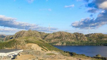 Peikko has delivered rock foundation technology to Tindafjellet wind park in Southern Norway.