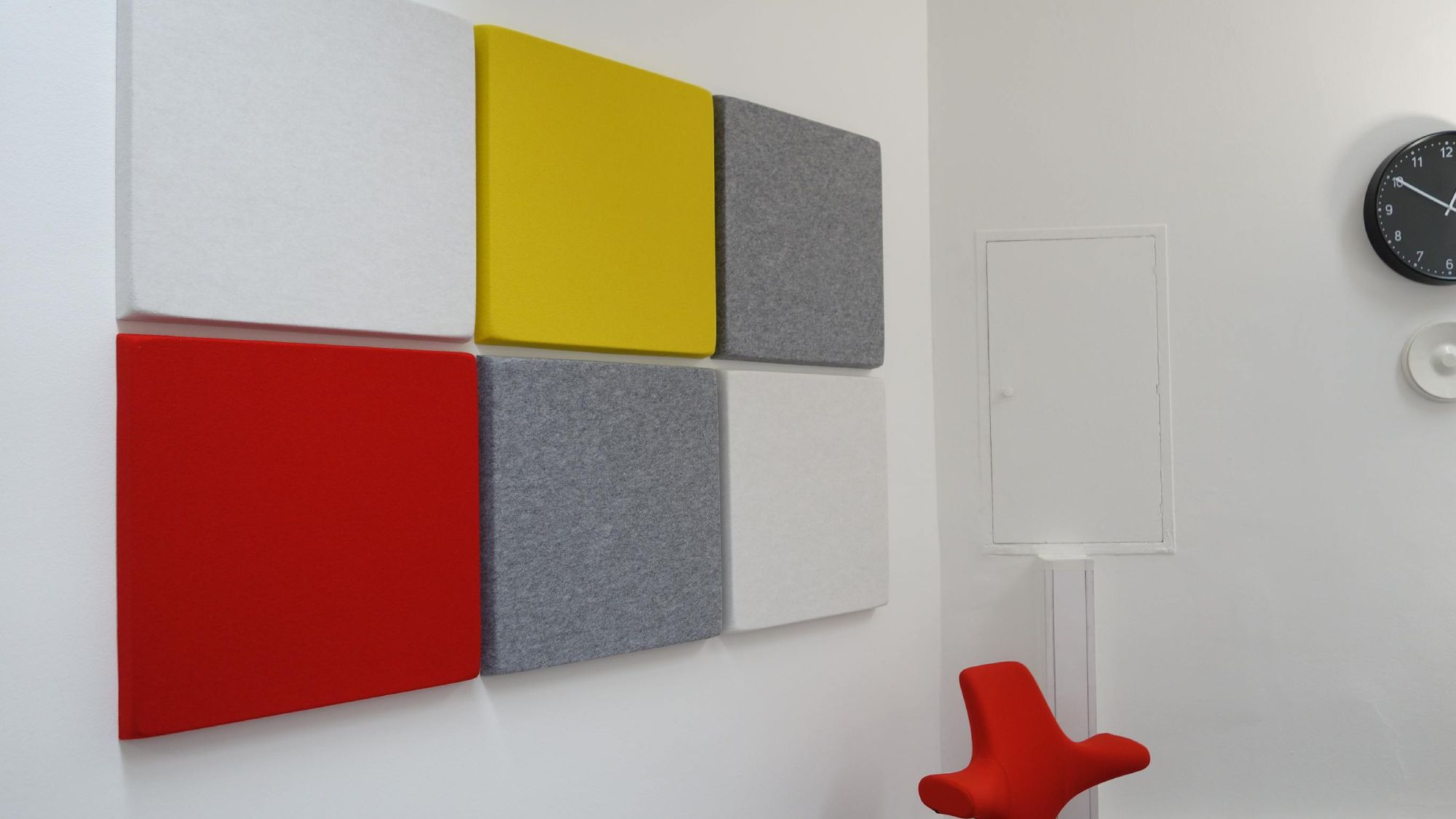 office's acoustic wall
