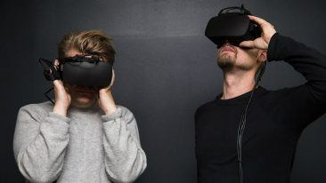 "According to Urho Konttori (right), the processing technology makes it possible to combine the real and digital worlds in an ""unprecedented level of realism, quality and latency""."