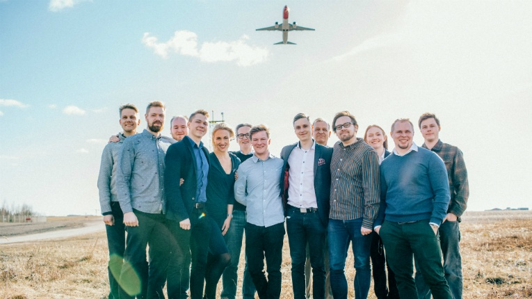 The team behind Kaiku Health, which is taking off across Europe.