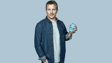 Finnish Formula One driver Kimi Räikkönen is the face of the Original Long Drink brand.