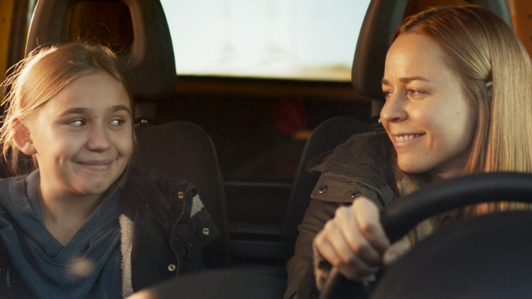 Linnea Skog (left) made her feature debut in the movie Little Wing with Paula Vesala.