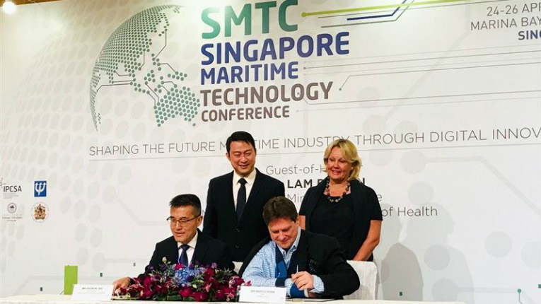 Wärtsilä and the Maritime and Port Authority of Singapore have agreed to promote maritime technologies together.