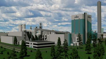Finnpulp's bioproduct mill will be the world's largest softwood pulp mill.