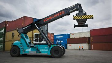 Konecranes is strengthening the presence of its lift trucks in Asia with four new distributor agreements in Vietnam, Cambodia, Indonesia, and Myanmar.