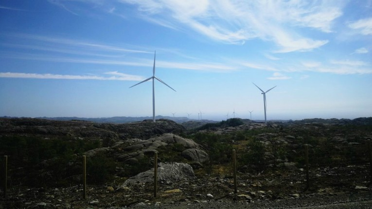 The Bjerkreim cluster contains 70 wind turbines and an installed capacity of 294 MW, that will feed electricity to the Nordic power grid.