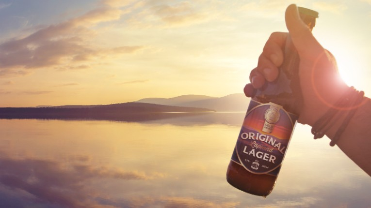 The Original Lapland Lager made after its original 1964 recipe, is expected to do especially well in Sweden.