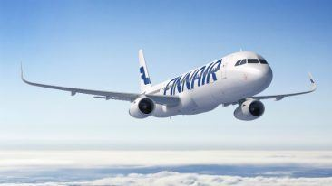 Finnair is installing the new high-speed Internet service on its narrow-body Airbus fleet on European flights.