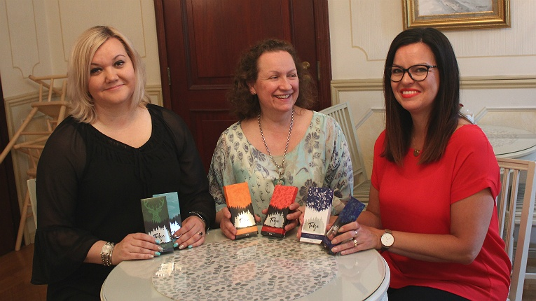 Pictured (left to right) are three of the five co-founders: Tanja-Maria Davidov, Anne Nymark and Mirja Palola (CEO).