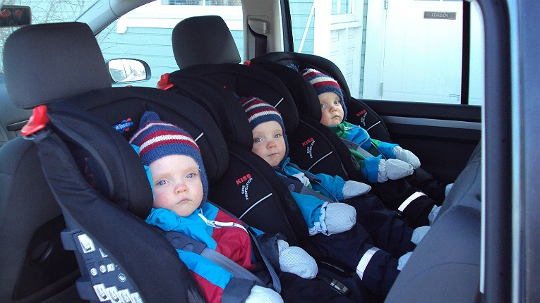 Klippan's rear-facing seats are a common sight in the Nordics, and now they're gradually taking over the rest of Europe.