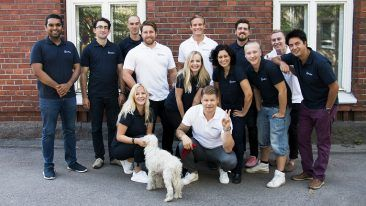 Homerun Technologies has grown to 13 employees, three of whom work with the AI technology.