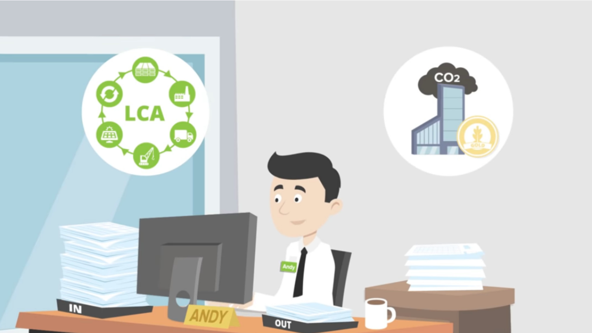 The easy-to-use software is for designing and building in an environmentally sustainable way.