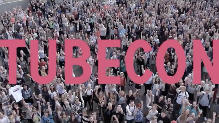 Tubecon gathers YouTubers, social media influencers and theirs fans together around Europe.