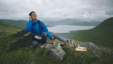 Chinese MasterChef Steven Liu was involved in developing a soundscape for his menu aboard Finnair.