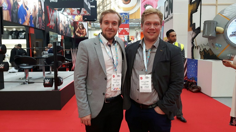 Flowhaven founders Timo Olkkola (left) and Kalle Törmä are set to grab a chunk of the 270 billion-dollar licensing industry.