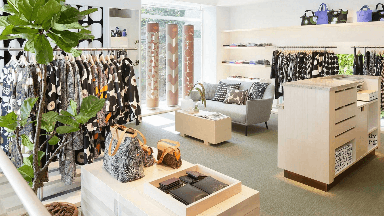 """""""Emotional and experiential stores alongside the availability provided by e-commerce are important factors in building strong brands,"""" explains Tiina Alahuhta-Kasko."""