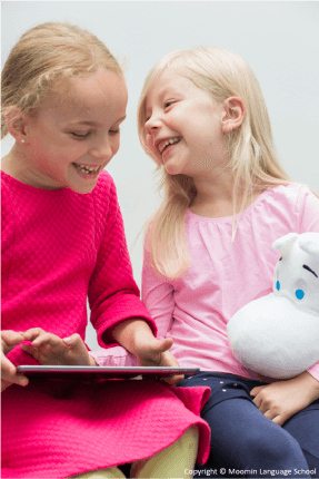 The method has been designed specifically for three- to seven-year-old children – the optimal age for foreign language learning.