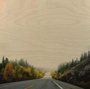 The open road ahead. Social media is a useful tool for visual companies like Plywood Print.