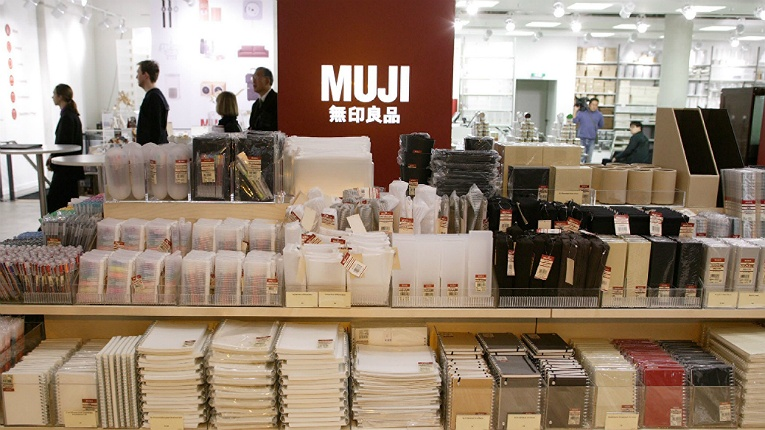 MUJI has 900 stores worldwide and a turnover of 2.7 billion euros.
