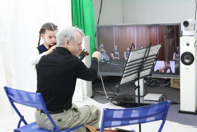 Distance learning is a means to ensuring virtually everyone has access to musical education.