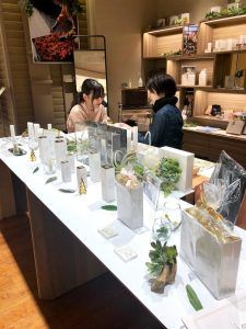 The doors are open to Globe Hope Cosmetics' first shop found in Tokyo's Isetan department store.