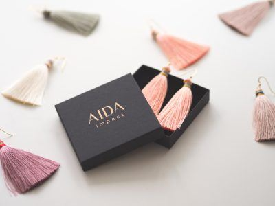 On top of its charitable intentions, AIDA impact aims to become a serious fashion and design brand.