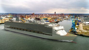 The Global class vessels will be some of the world's largest cruise ships upon completion.